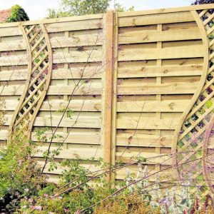 Gallant Climbers Wall Wood Fence Fence Ideas Your Backyard Family Handyman Backyard Fence Design Ideas Backyard Privacy Fence Ideas