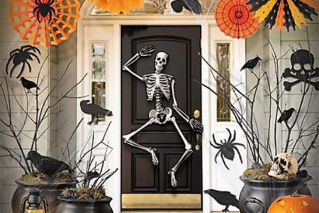 cool outdoor halloween decorations 2012 ideas 131