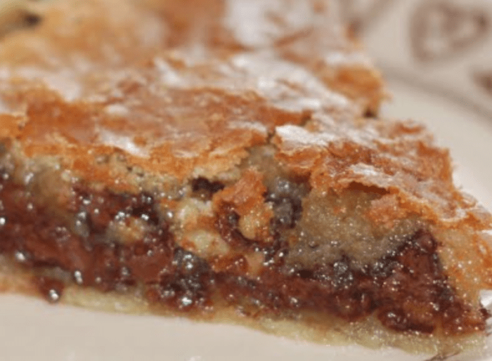 Paleo NESTLE TOLL HOUSE Chocolate Chip Pie