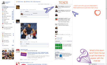 Are You Missing Facebook Ticker?