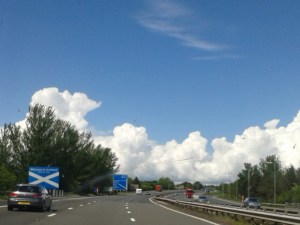 Scotland Clouds