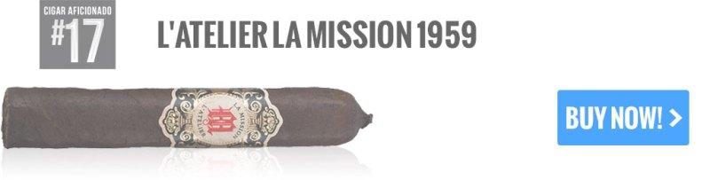 top 25 cigars l'atelier la mission 1959 cigars