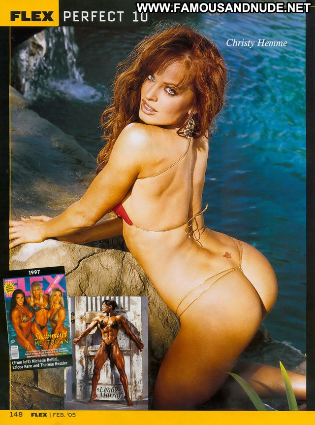 Christy Hemme Blue Eyes Redhead Athletic Big Tits Posing Hot