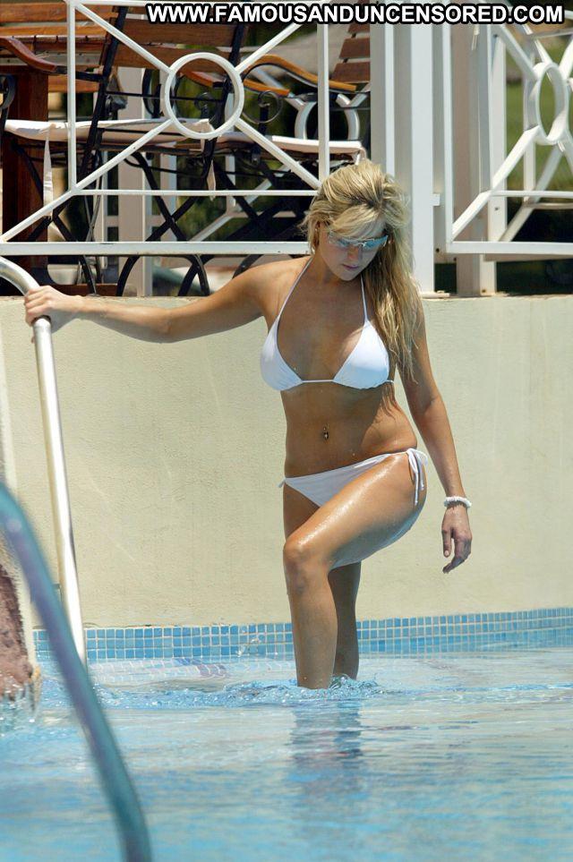 Abi Titmuss Nude Sexy Scene Beach Bikini Showing Tits Blonde