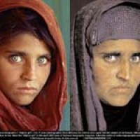 Afghan Eyes Girl