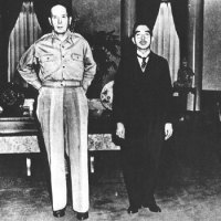 MacArthur and the Emperor