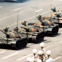 Tiananmen Square - Man vs Tank