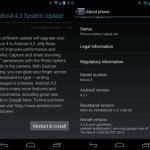 Déploiement Android 4.2.1