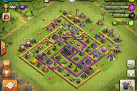 clash of clans village 300x225