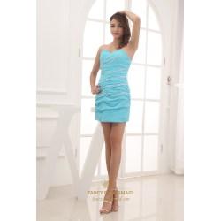 Small Crop Of Sky Blue Dress