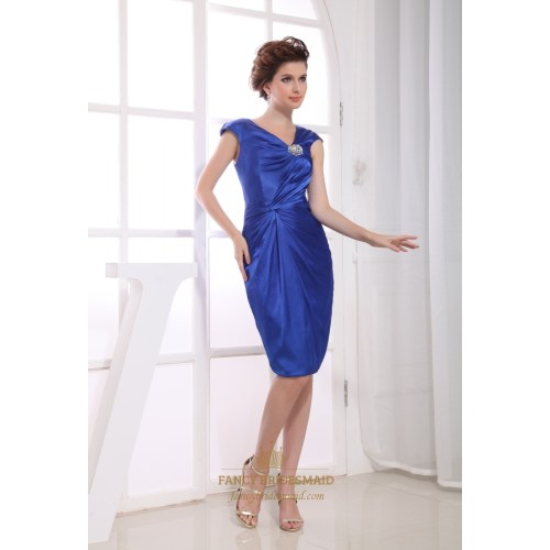 Medium Crop Of Royal Blue Cocktail Dress