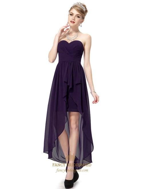 Medium Of Dark Purple Dress