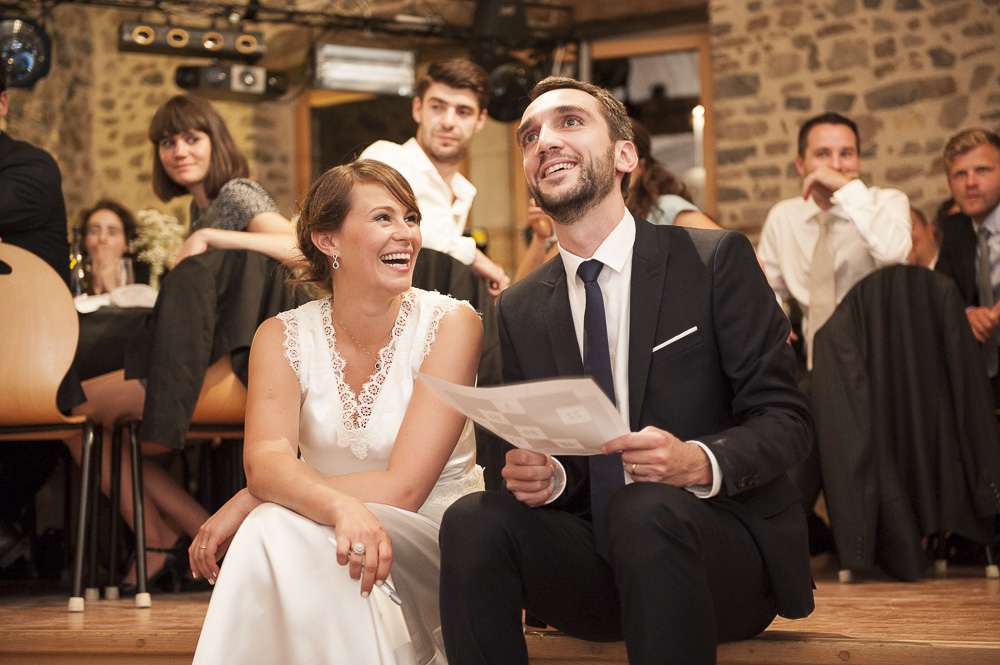 Animations de bingo pendant un mariage en auvergne.