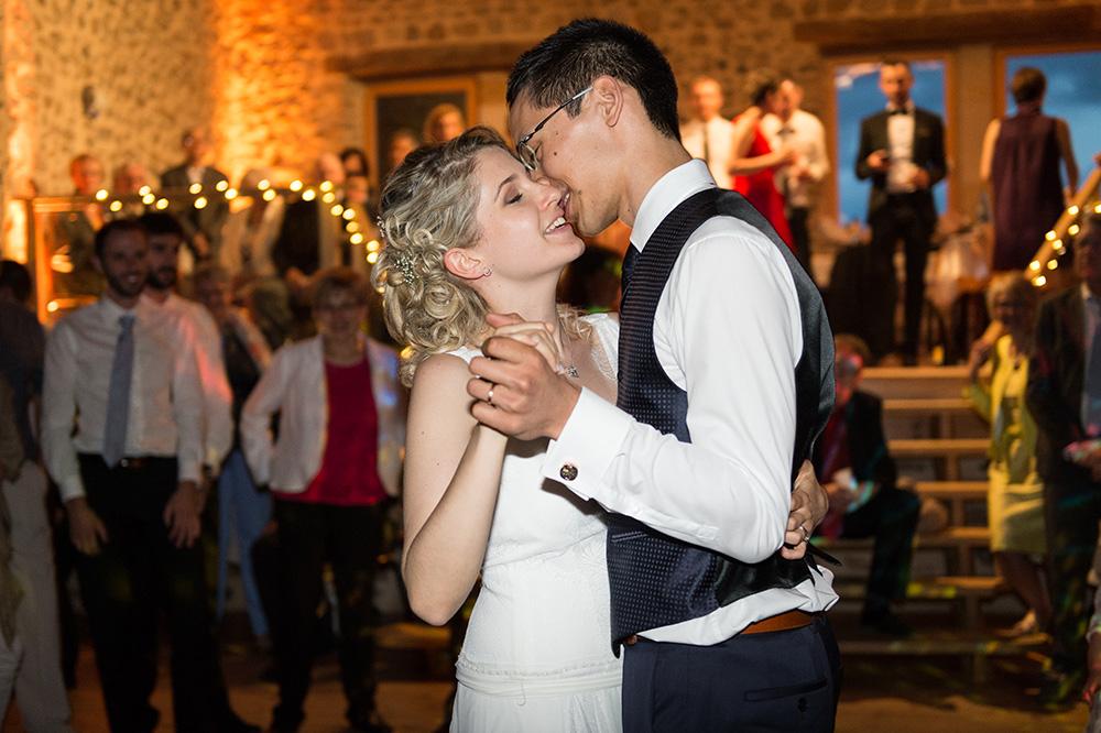 L'ouverture du bal des mariés au domaine de chantelou à sallèdes.