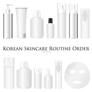 Korean Skincare Routine Order