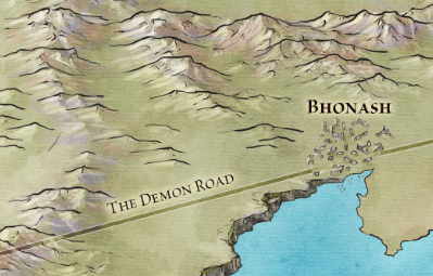 Bhonash and the Demon Road