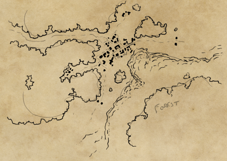 Line Drawing Map : How to draw a map fantastic maps
