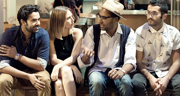 Fantastic People. Johann Wald, Alba Yáñez, Juaniyo Navaza y Khaled Abbas (Plateselector)