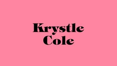 Carta de amor de Caterina Scicchitano a Krystle Cole