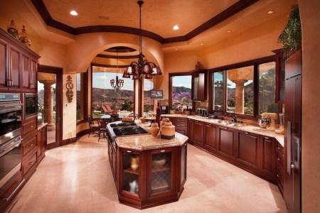 gorgeous kitchen design ideas with luxury kitchen island and beautiful pendant light