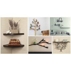Piquant Small Homes S Imaginary Floating Wall Shelves Kitchen Wall Shelves Wall Shelves Images