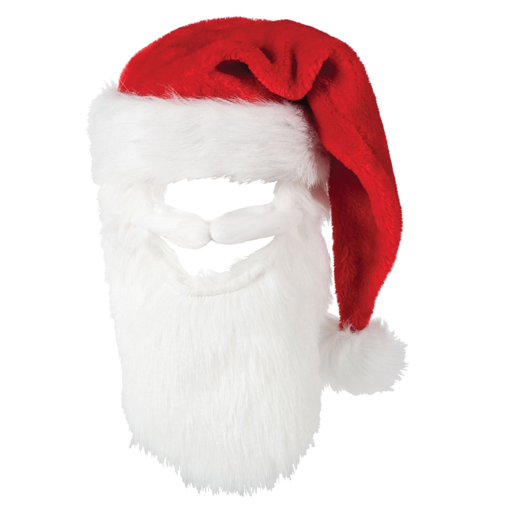 Graceful Beard Santa Hat Santa Hat Beard Fantasy World Santa Claus Hat Transparent Png Santa Hat Transparent Vector nice food Santa Hat Transparent
