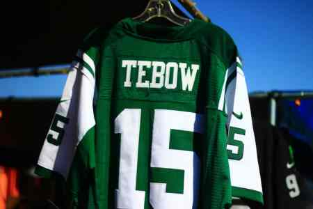 Tim Tebow New York Jets Jersey