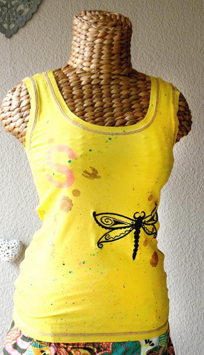 Damenshirt nähen, Schnittmuster farbenmix, Fotoanleitung