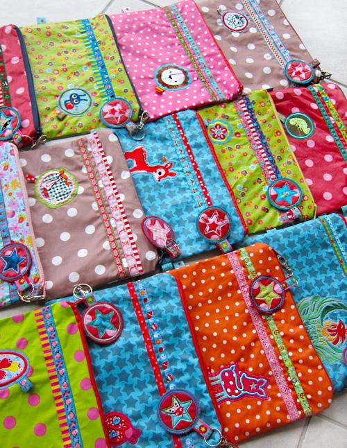 Nähwerkzeuge, Kamerun-Spende, farbenmix, Stofftaschen