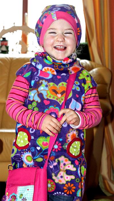Tunika AMELIE Schnittmuster farbenmix Shirt