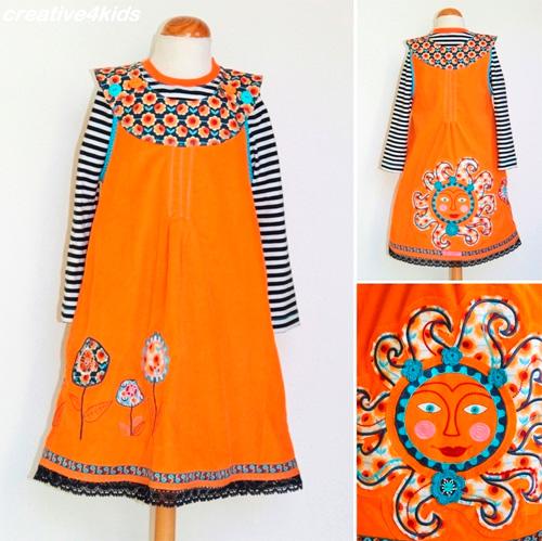 ODA Schnittmuster Kleid Mädchen farbenmix