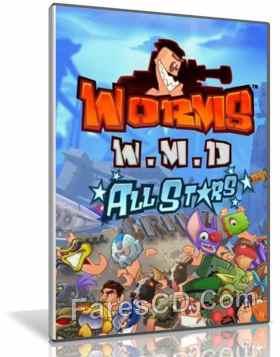 تحميل لعبة | Worms W.M.D 2016