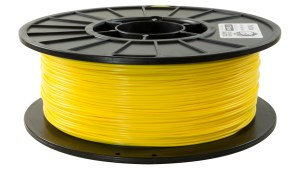 1.75mm yellow PLA filament - Schark Parts a