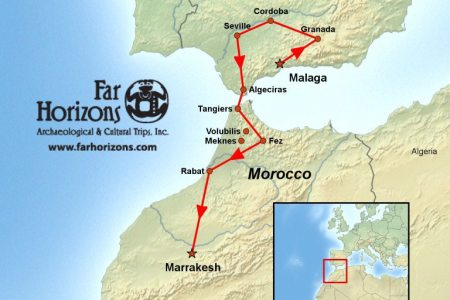 Map Of Spain Morocco - Portugal morocco map