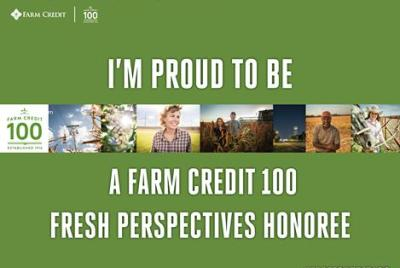Farm Credit Fresh Perspectives Honoree