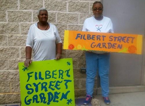 filbert st garden