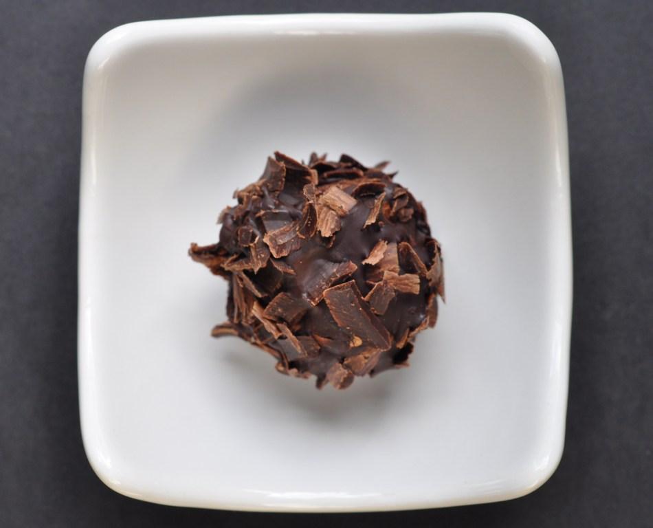Triple Chocolate Mosto Cotto Truffles via farmgirlgourmet.com