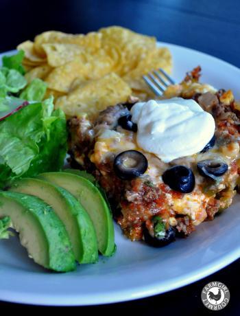Mexican Lasagna Farmgirl Gourmet 2