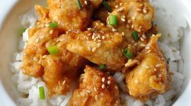 Oven Fried Orange Chicken 2