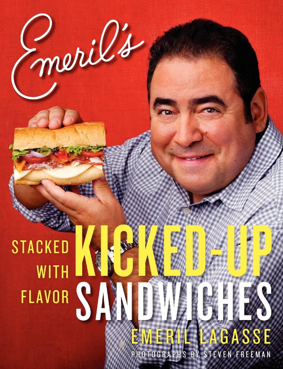 Emeril Kicked Sandwiches PB Cover