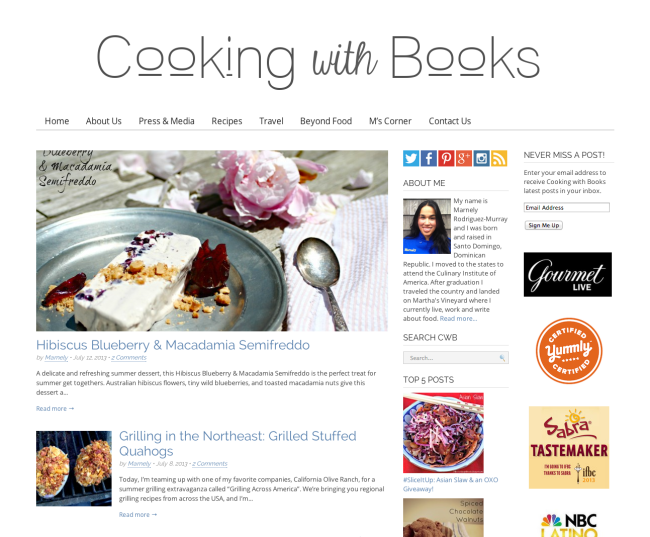 Cooking with Books.net After | farmgirlgourmet.com