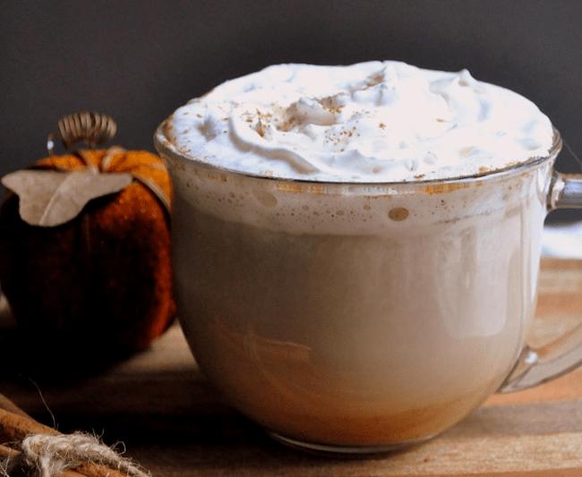 DIY Pumpkin Spice Latte   farmgirlgourmet.com