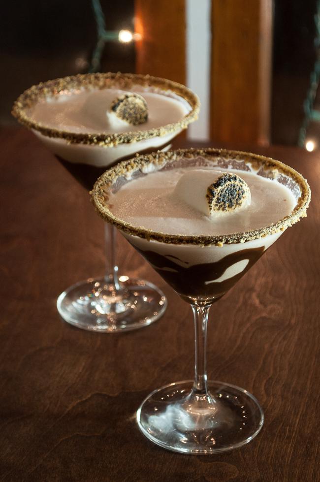 S'mores Martinis | farmgirlgourmet.com