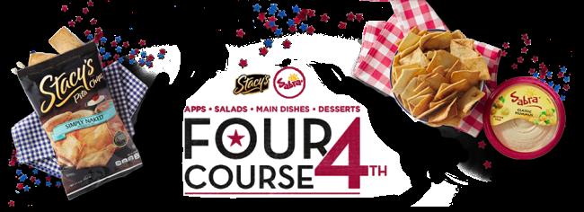 Sabra Four Course Fourth | farmgirlgourmet.com #client