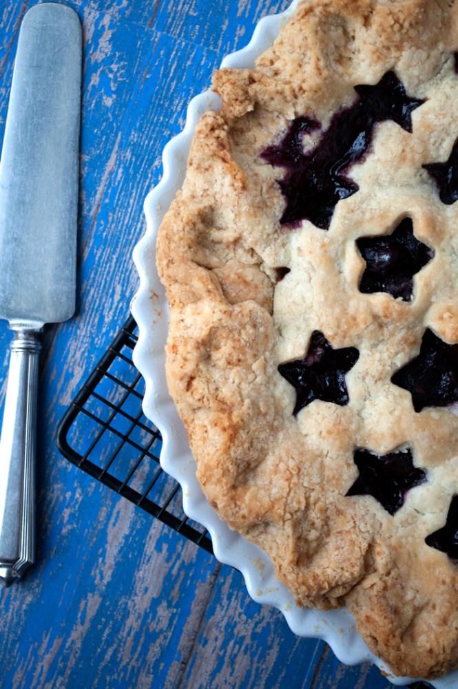 Fresh Cherry & Orange Pie | farmgirlgourmet.com