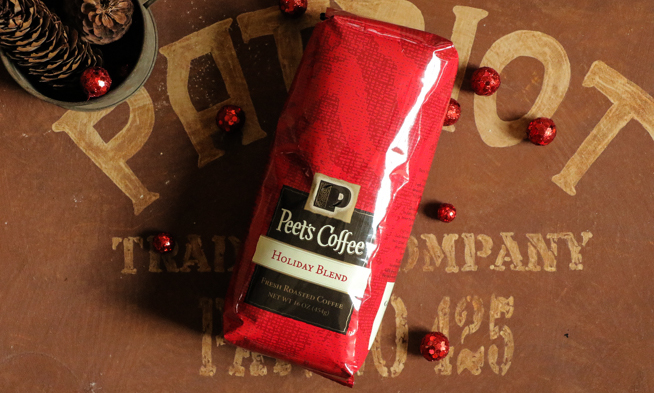 Peet's Coffee Holiday Blend | farmgirlgourmet.com