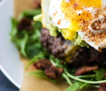 The Spice Cave Paleo Burger | farmgirlgourmet.com