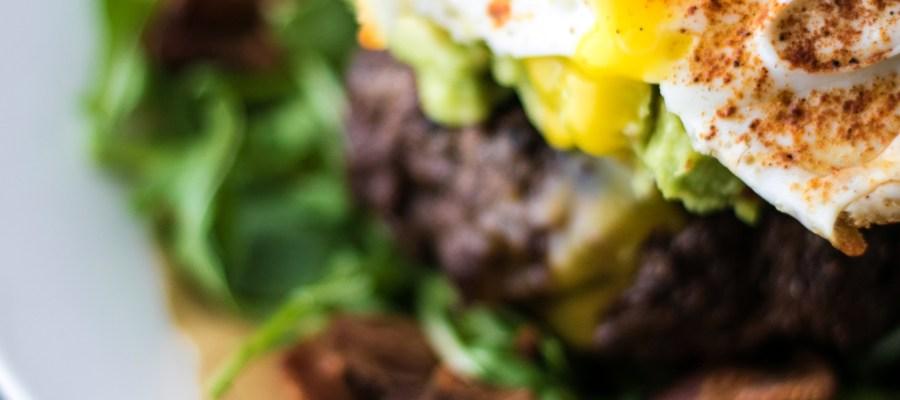 The Spice Cave Paleo Burger | farmgirlgourmet.com