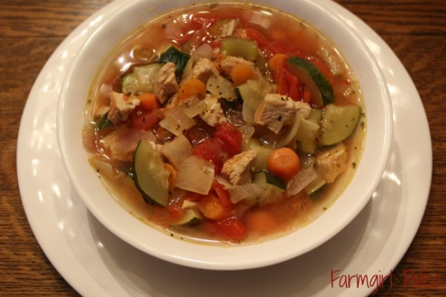 Paleo Turkey Minestrone