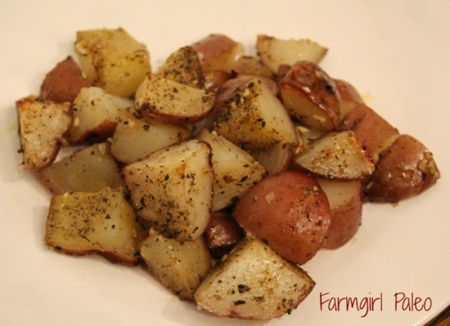 Paleo Herb Roasted Red Potatoes
